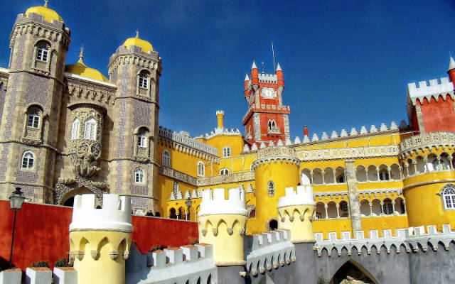 Palazo da Pena, en Sintra - Imagen de Blog Literario y Fotográfico