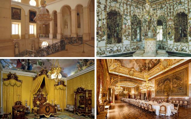 Interior del Palacio Real de Aranjuez - Imágenes de Patrimonio Nacional