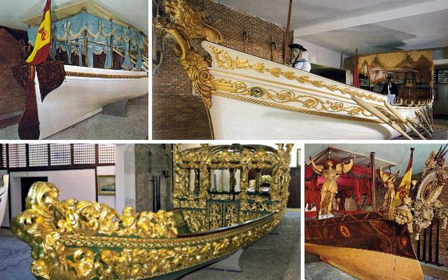Faluas reales, embarcaciones fluviales para el río Tajo - Destino y Sabor