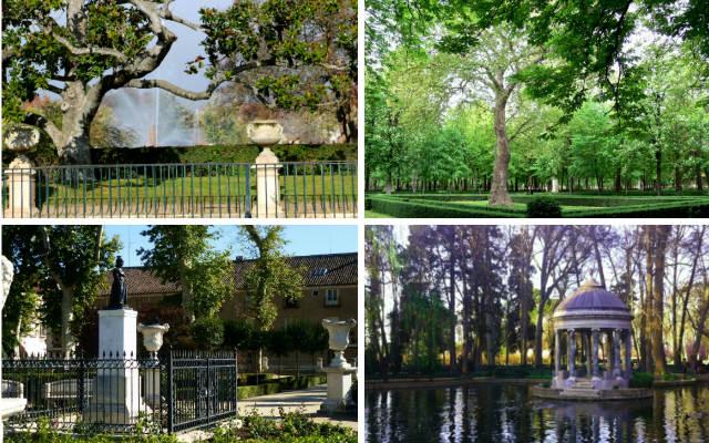 Jardines de Aranjuez - Destino y Sabor