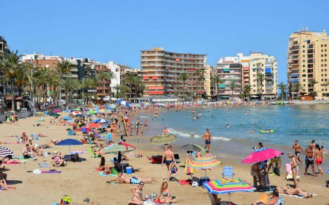 Playa del Cura de Torrevieja