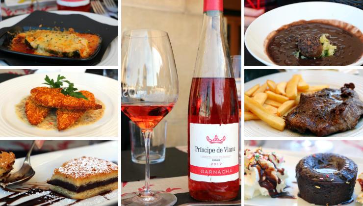 Comer en el Restaurante El Kiosko de Pamplona - Imagen cortesía de A Tavola con il Conte
