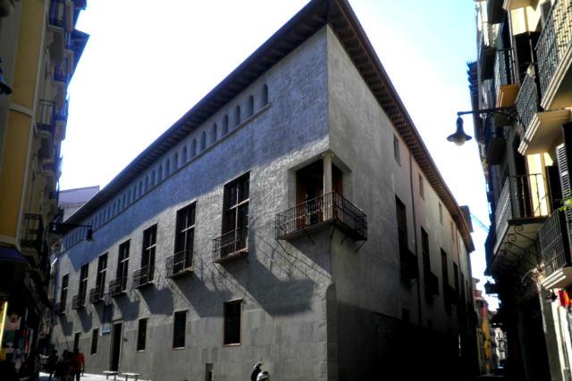 Palacio del Condestable Civivox - Imagen de laguiadepamplona