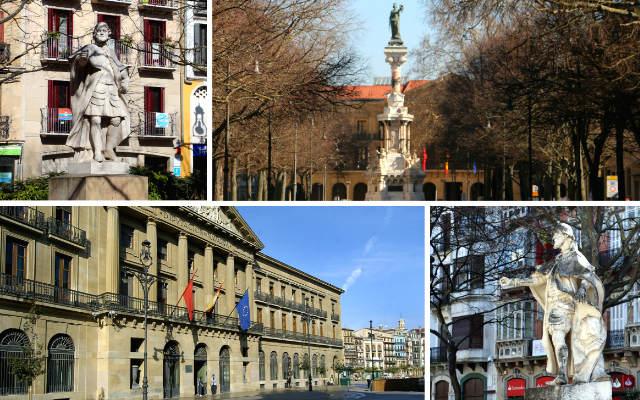 Paseo Sarasate de Pamplona - Destino y Sabor