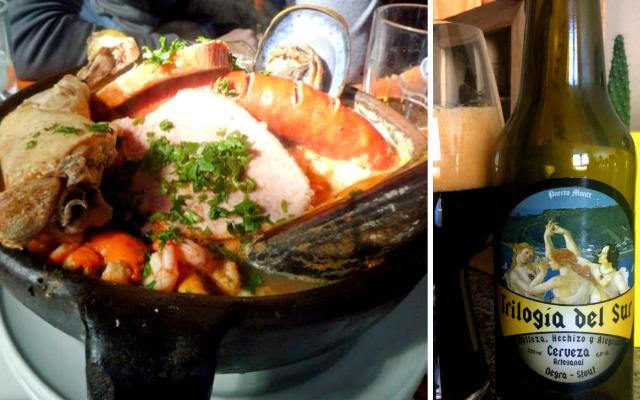 Gastronomía de Puerto Montt - Montaje de Destino y Sabor