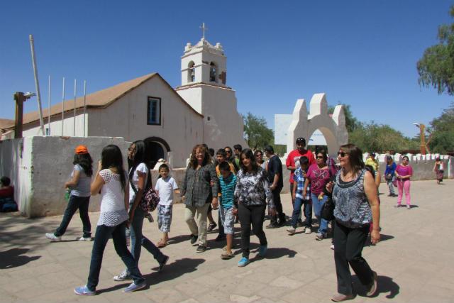 Iglesia de San Pedro de Atacama - Imagen del DiarioAntofagasta