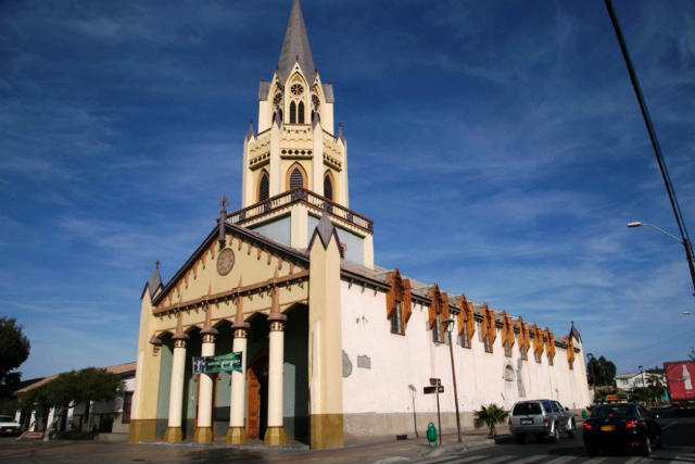 Iglesia de San Vicente de Paul en Caldera - Imagen de Iglesia