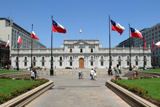 Palacio de La Moneda - Imagen de Arch Daily