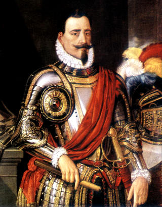 Pedro de Valdivia, fundador de Santiago - Imagen de Wikipedia