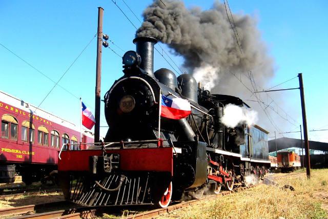Tren del vino de la Ruta del Vino del Colchagua - Imagen de Picssr