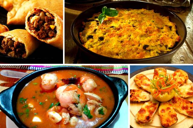 Gastronomía Chilena del sur del páis - Montaje de Destino y Sabor