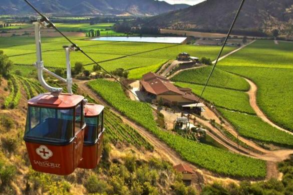 Teleférico enoturístico por el Valle de Colchagua - Imagen de Visit Chile