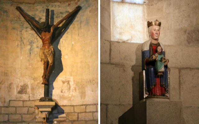 Imágenes titulares de la Iglesia del Espíritu Santo de Puente La Reina - Destino y Sabor