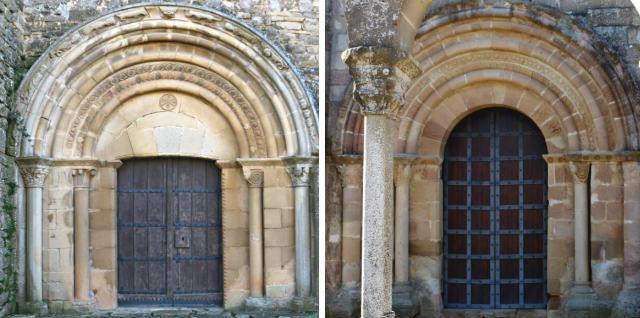 Portadas de San Miguel de Olcoz y Santa María de Eunate - Destino y Sabor