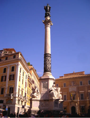Colonna dell'Immacolata - Desino y Sabor