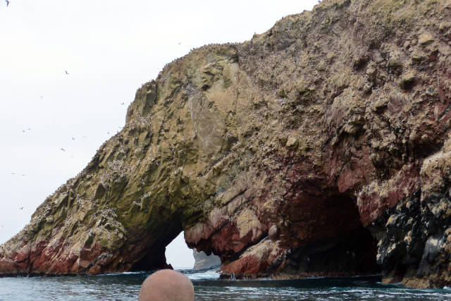 Arcos y formaciones rocosas en las Islas Ballestas - Destino y Sabor