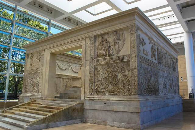 Museo del Ara Pacis, o altar de la paza en Roma - Imagen de Andy Hay
