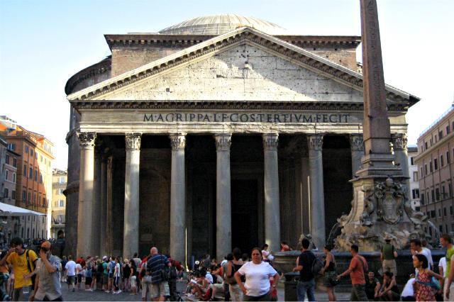 Pantheon de Agripa - Destino y Sabor