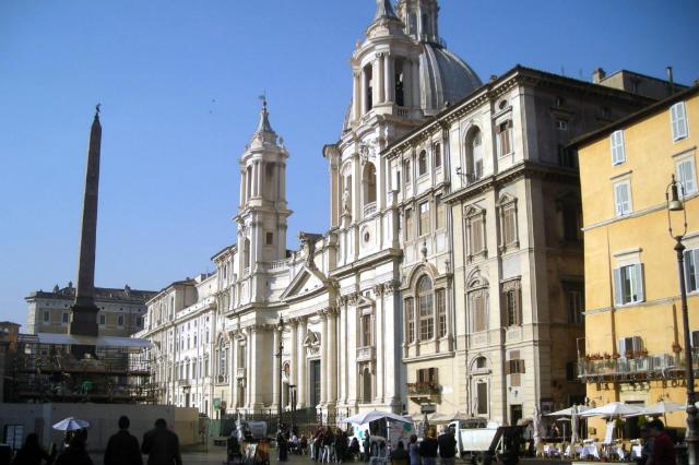 Piazza Navona - Destino y Sabor