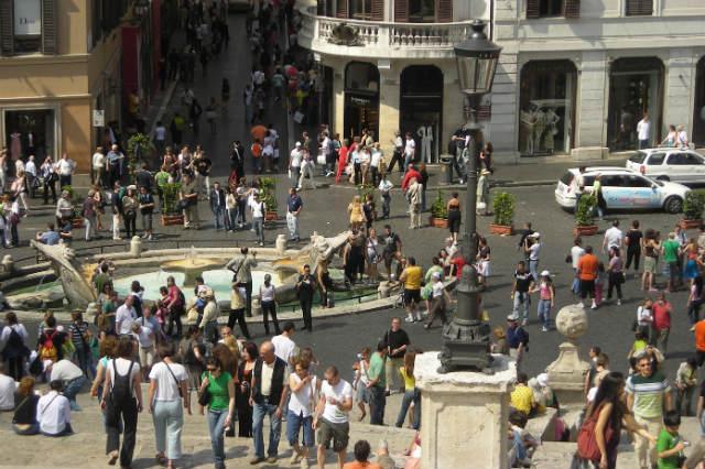 Piazza Spagna- Destino y Sabor