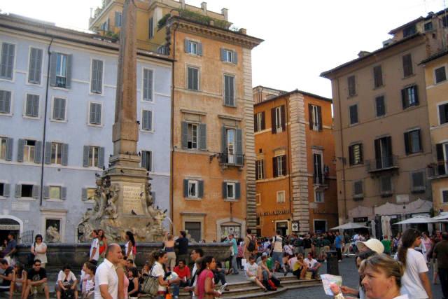 Piazza del Pantheon - Destino y Sabor