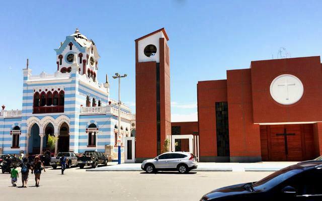 Plaza de Armas de Pisco con sus iglesias - Destino y Sabor