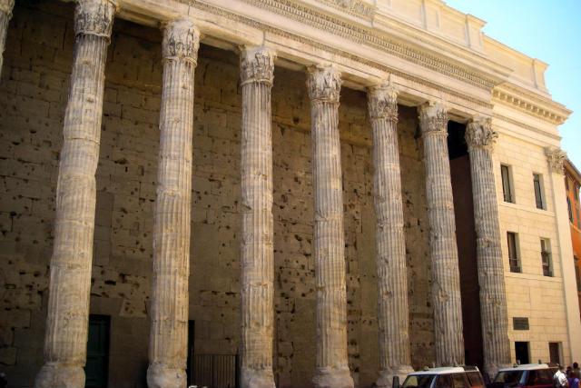 Templo de Adriano - Destino y Sabor
