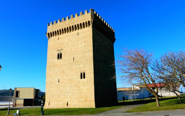 Torre palaciega de Olcoz - Destino y Sabor