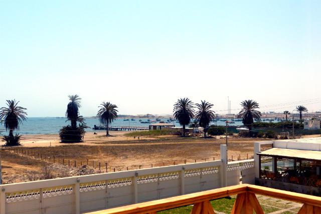 Vistas al mar desde nuestro hotel de Paracas - Destino y Sabor