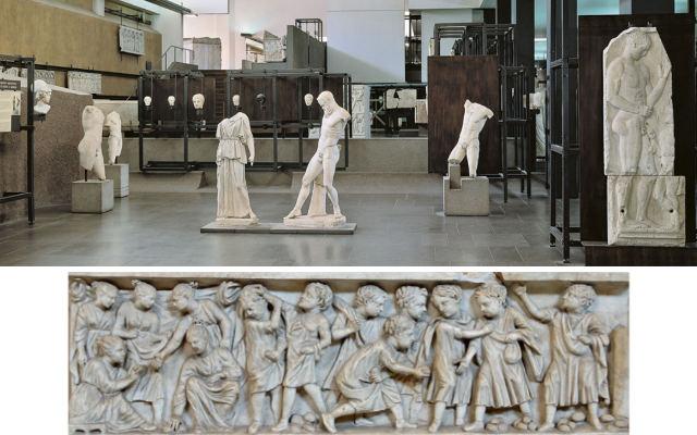 Piezas del Museo Gregoriano Profano - Composición de Destino y Sabor