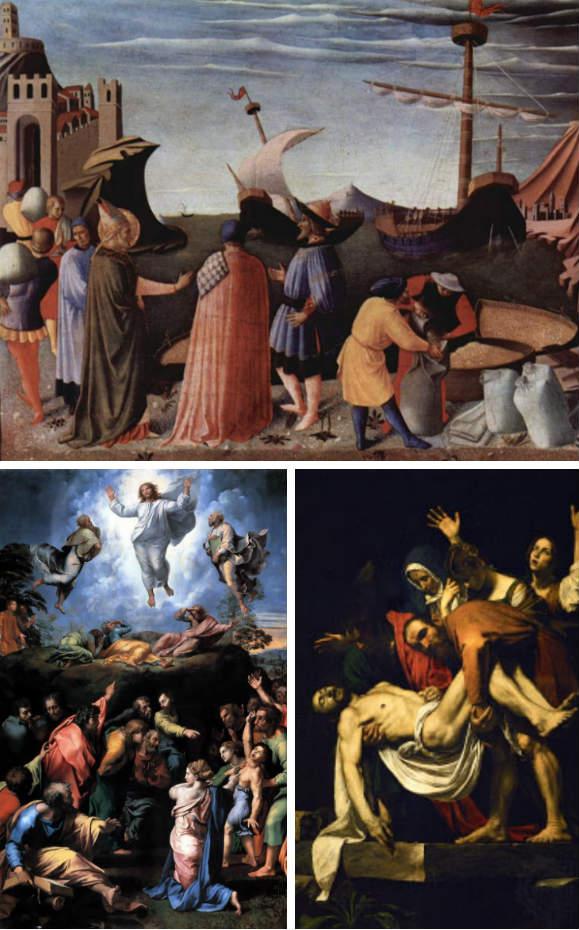 Cuadros de la Pinacoteca Vaticana - Composición de Destino y Sabor
