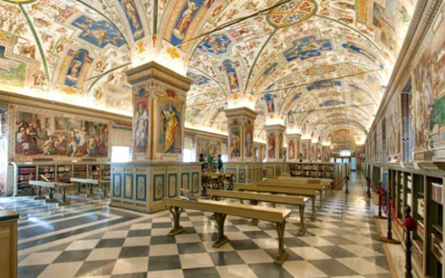 Bibliotecas Vaticanas - Imagen de los Museos Vaticanos