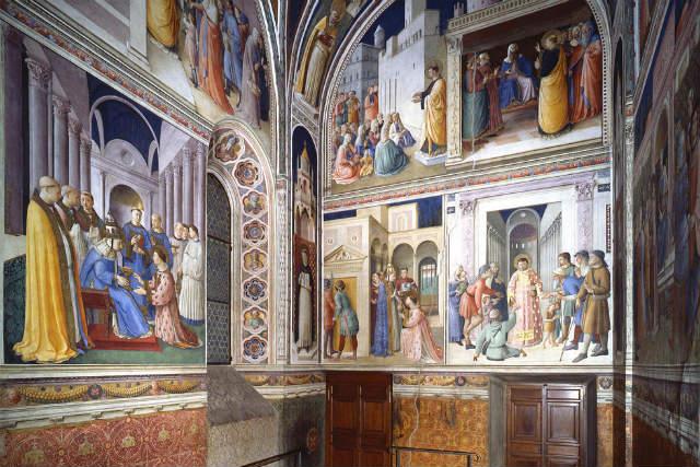 Capilla Nicolina - Imagen de los Museos Vaticanos