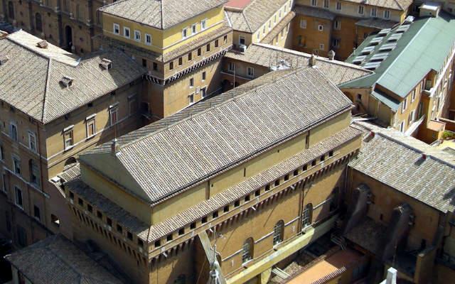 Capilla sixtina desde il Cupolone - Destino y Sabor