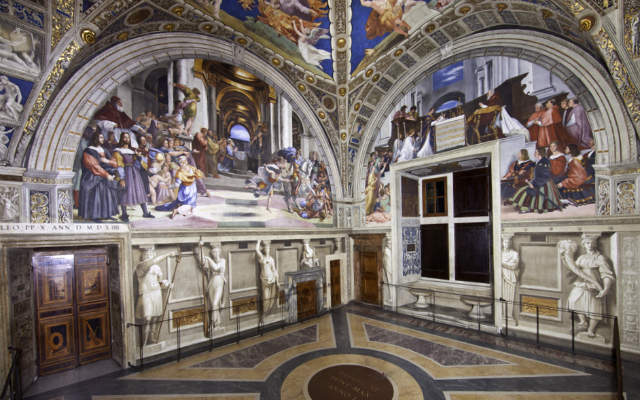 Estancias de Rafael - Estancia de Heliodoro - Imagen de Museos Vaticanos