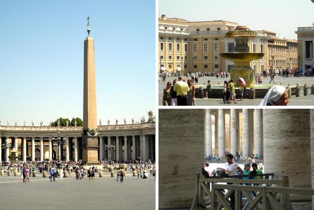 Plaza de San Pedro del Vaticano - Destino y Sabor