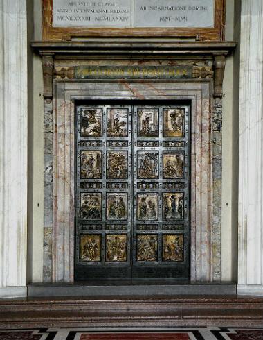 Puerta Santa del Vaticano - Destino y Sabor