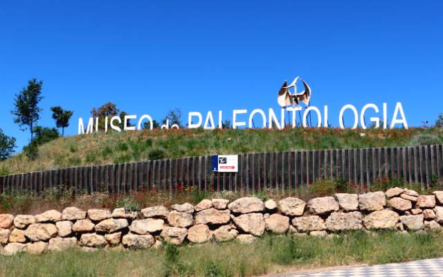 Entrada exterior al Museo de Paleontología de Cuenca - Destino y Sabor