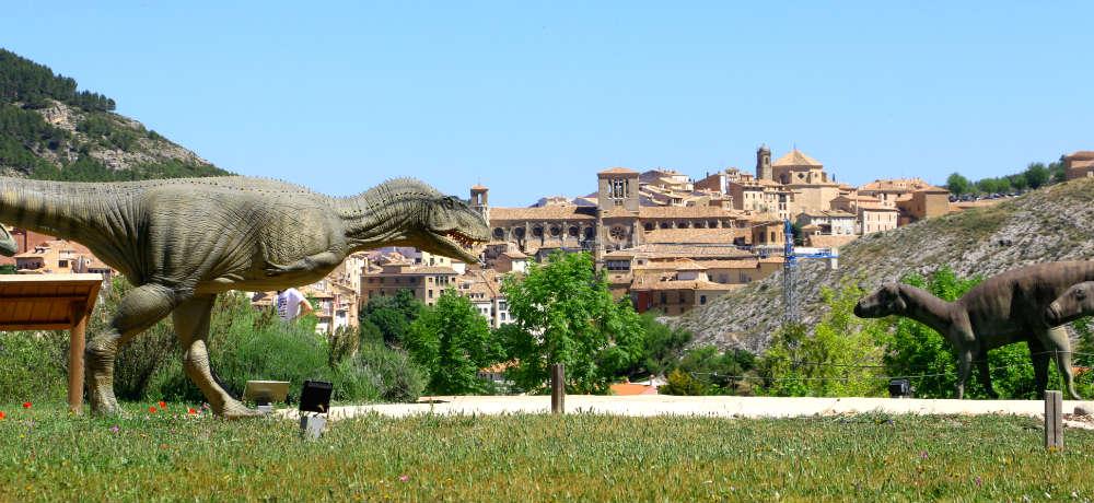 Vista al Museo Paleontológico de Cuenca - Destino y Sabor