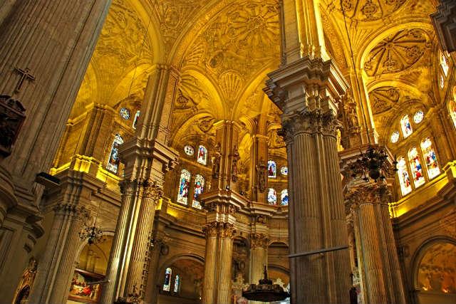 Interior de la Catedral de Málaga