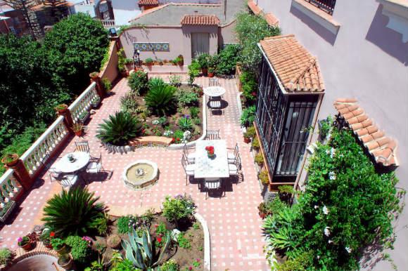 Terraza del Hotel Monte Victoria de Málaga