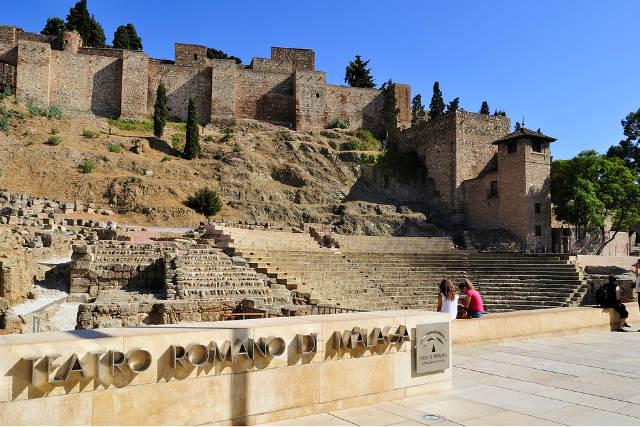 Teatro romano de Málaga