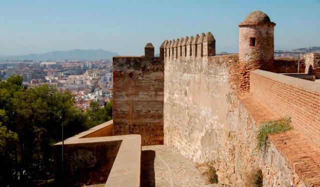 Murallas del Castillo de Gibralfaro