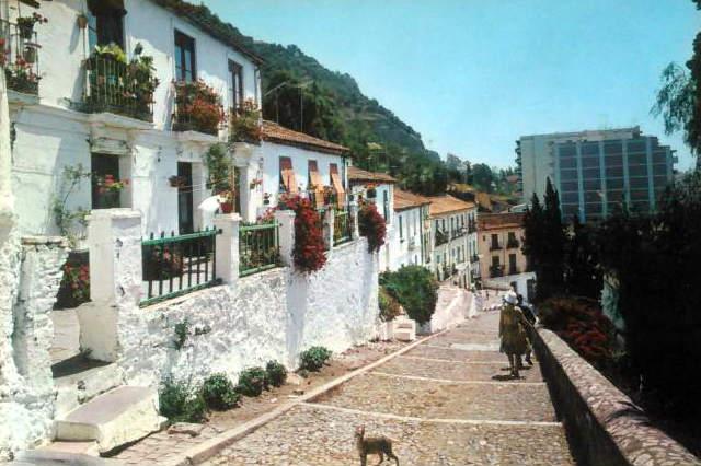Aspecto origianal del barrio de la Coracha - Imagen de TodoColección