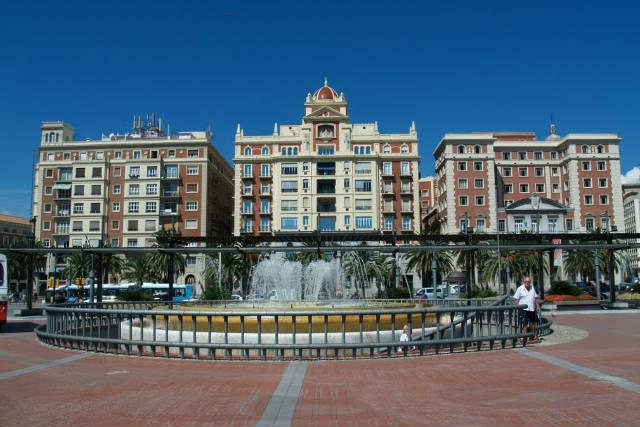 Plaza de la Marina de Málaga