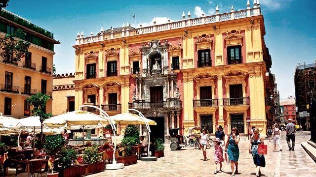 Plaza de Obispo de Málaga