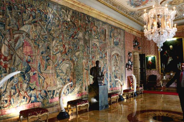 Salón de recepciones del Palacio de Liria - Destino y Sabor