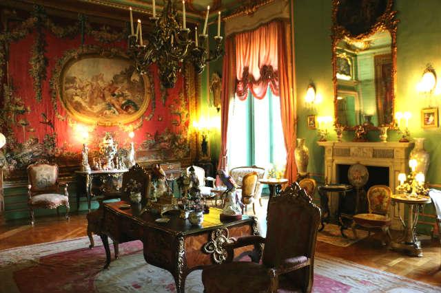 Salón del amor de los dioses, una sala de estar - Destino y Sabor