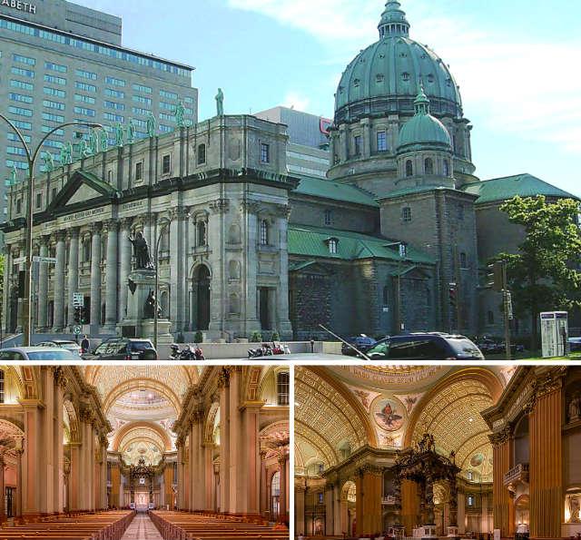 Basílica de Santa María, Reina del Mundo en Montreal - Composición de Destino y Sabor