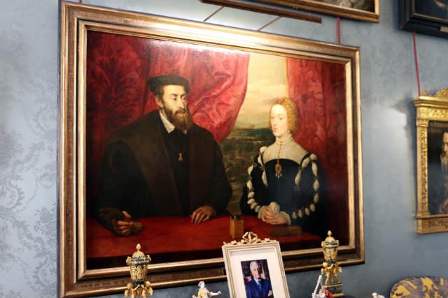 Carlos V e Isabel de Portugal de Rubens - Destino y Sabor